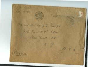1950-11-08 Eloise Garstin correspondance from Cairo Egypt (3)