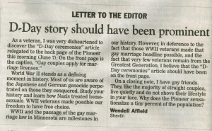 2013-06-11 D-Day Pioneer article