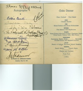 1938-05-28 Gala Dinner and Autograph. Inside