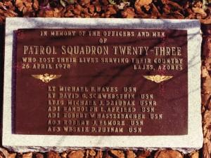 1978-04-26 Randy Memorial Plaque