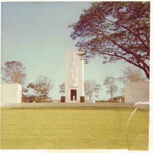 1966-10-15 Manilia American Cemetery MIA Center